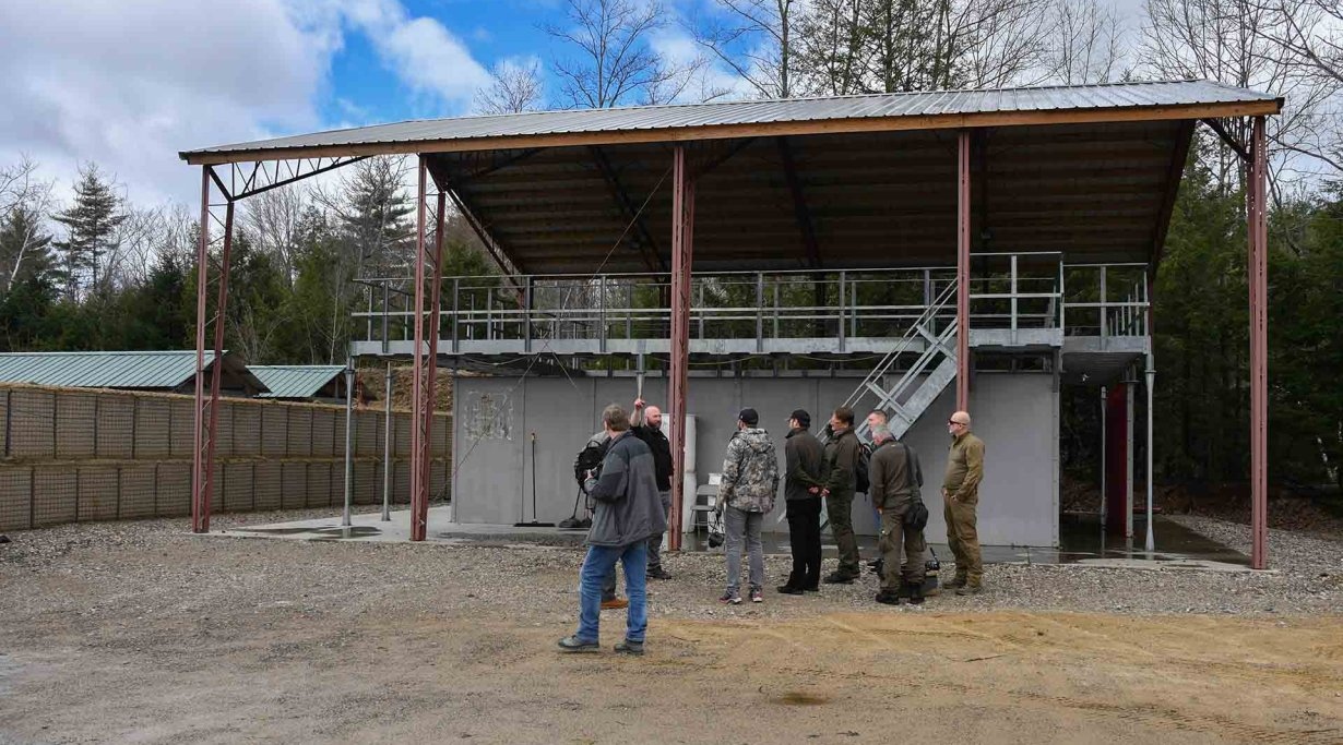 SIG Sauer Academy: shooting ranges outside