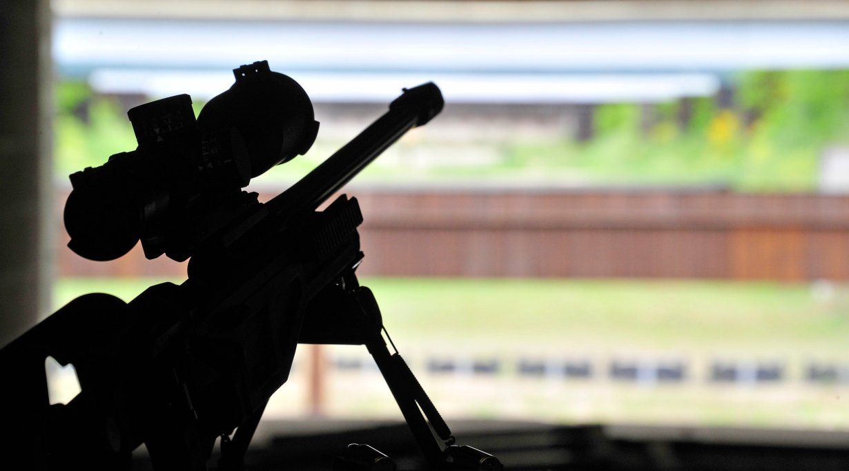 Riflescope at the range