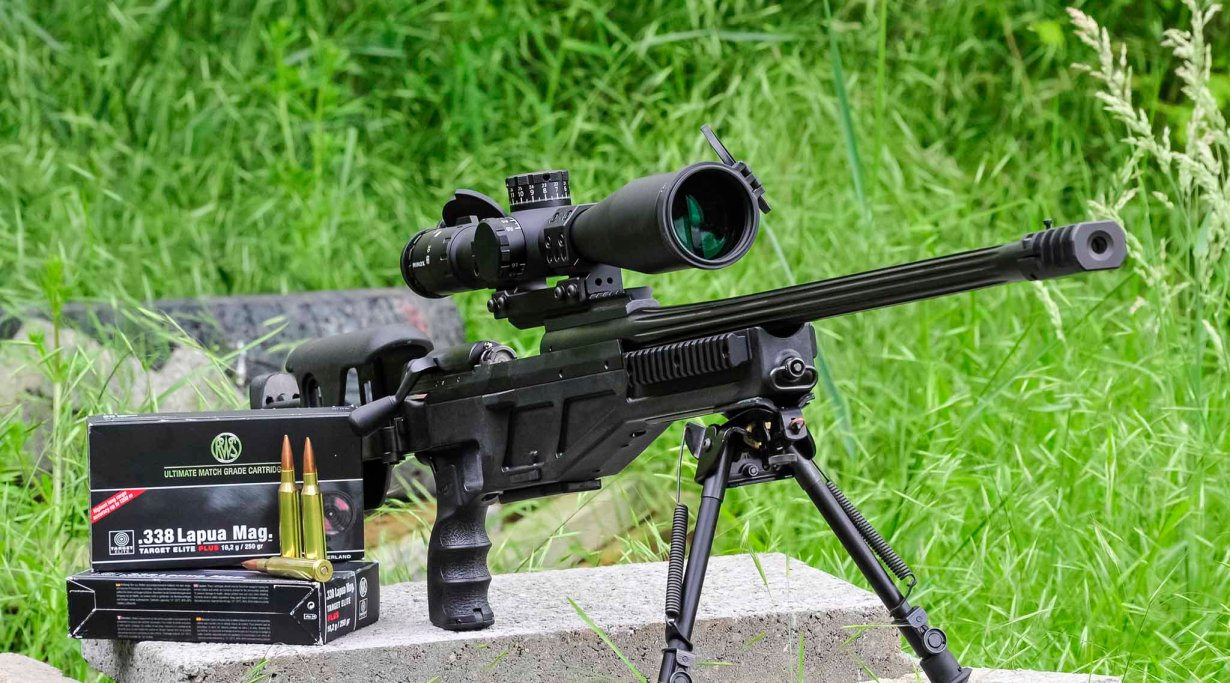 Minox ZP5 TAC 5-25x56 tactical riflescope