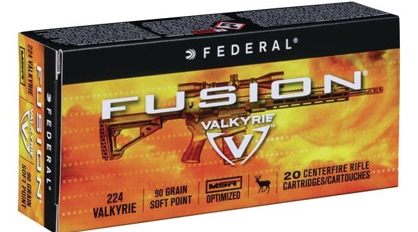 New caliber:   .224 Valkyrie Fusion for AR-15 models