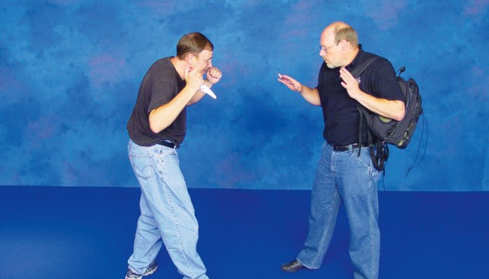 culture: Self-defense and unarmed defense Part 12 - Knife defense: shield defense tactics