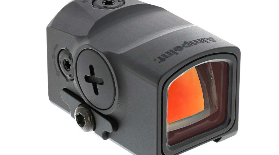 Aimpoint ACRO P-1 mini red dot sight right side view