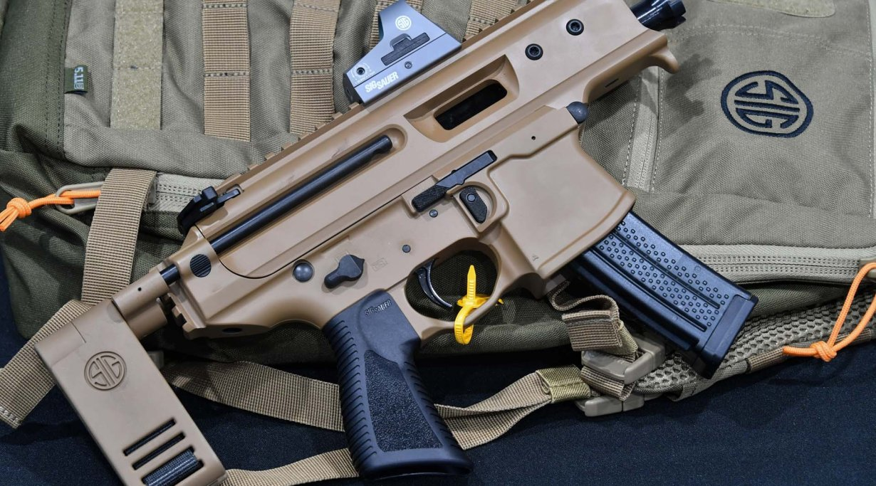 SIG SAUER MPX Copperhead