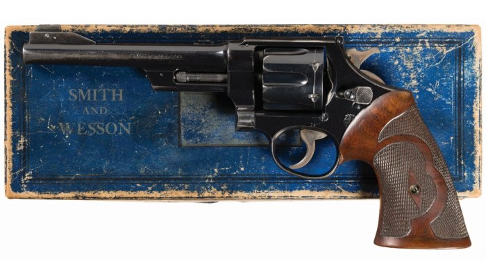 cultura: Rock Island Auctions: all'asta in America la Smith & Wesson di Elmer Keith e tante altre armi uniche e rarissime